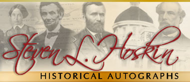 Historical Civil War Autographs