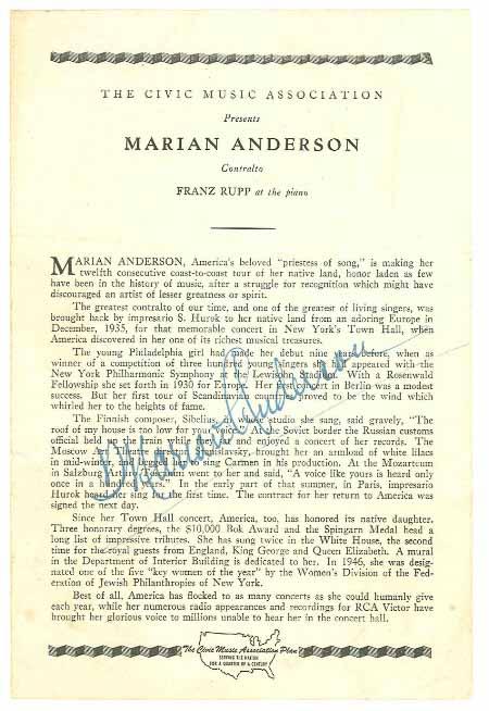 ANDERSON, MARIAN (1897-1993)