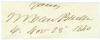 VAN BUREN, MARTIN (1782-1862)