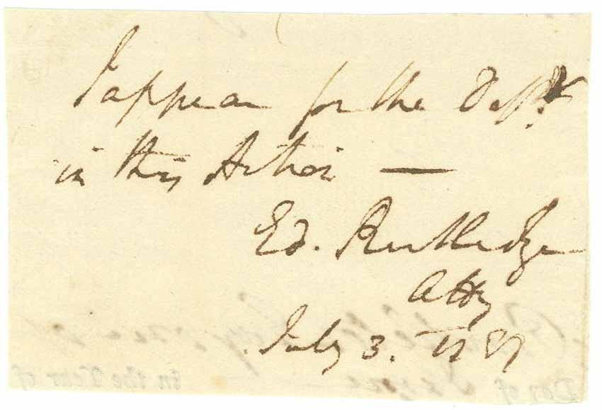 RUTLEDGE, EDWARD (1749-1800)