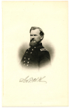 McPHERSON, JAMES B. (1828-64)  Union Major General – Ohio; Killed-in-Action at the Battle of Atlanta, July 22, 1864