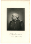 SHERIDAN, PHILIP H. (1831-88)  Union Major General – New York; U.S. Army General – 1888; Commander-in-Chief of the U.S. Army – 1883-88