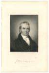 MARSHALL, JOHN (1755-1835)  Chief Justice of the United States – 1801-35; U.S. Secretary of State – 1800-01