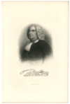 PENN, WILLIAM (1644-1718)  Pacifist Quaker; Founder of Philadelphia & Pennsylvania