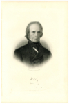 CLAY, HENRY (1777-1852)  U.S. Secretary of State - 1825-29; U.S. Presidential Candidate - 1824, 1832 & 1844