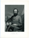 "JACKSON, THOMAS J. ""STONEWALL"" (1824-63)  Confederate Lieutenant General – Virginia; Mortally Wounded at The Battle of Chancellorsville"