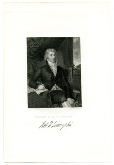 LIVINGSTON, ROBERT R. (1746-1813)  U.S. Minister to France – 1801-04, Known for Negotiating the Louisiana Purchase