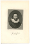 WINTHROP, JOHN (1587/8-1649)  Governor of the Massachusetts Bay Colony – 1630-34, 1637-40, 1642-44 & 1646-49; English Puritan Lawyer & A Founder of the Massachusetts Bay Colony