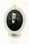 DOUGLAS, STEPHEN A. (1813-61)  Democratic Candidate for U.S. President – 1860; U.S. Senator – Illinois – 1847-61