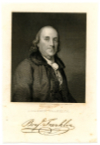 FRANKLIN, BENJAMIN (1705-90)  Signer of the Declaration of Independence; American Inventor, Printer, Diplomat & Revolutionary-Era Patriot