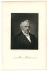 BUCHANAN, JAMES (1791-1868)  Fifteenth U.S. President - 1857-61; U.S. Secretary of State – 1845-49; U.S. Senator – Pennsylvania - 1834-45; U.S Representative – Pennsylvania – 1821-31