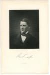EMERSON, RALPH WALDO (1803-82)  American Essayist, Lecturer & Poet