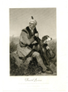 BOONE, DANIEL (1734-1820)  American Pioneer, Frontiersman & Folk Hero, Famous for the Exploration and Settlement of Kentucky