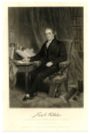 WEBSTER, NOAH (1758-1843)  American Lexicographer & Author; Published An American Dictionary of the English Language in 1828