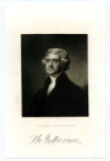 JEFFERSON, THOMAS (1743-1826) – Third U.S. President – 1801-09; Signer of the Declaration of Independence; U.S. Vice President – 1797-1801; U.S. Secretary of State – 1790-93; Governor of Virginia - 1779-81; Founder of the University of Virginia