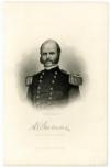 BURNSIDE, AMBROSE E. (1824-81)  Union Major General - Rhode Island; Commanded the Union Army of the Potomac at the Battle of Fredericksburg; Governor of Rhode Island – 1866-69; U.S. Senator – Rhode Island – 1875-81