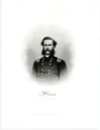 HERRON, FRANCIS J. (1837-1902)  Union Major General – Iowa; Received the Congressional Medal of Honor for the Battle of Pea Ridge