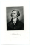 HAMILTON, ALEXANDER (1757-1804)  U.S. Treasury Secretary – 1789-95; Revolutionary War Captain & Aide-de-Camp to General George Washington; Killed in a Duel with Aaron Burr on July 11, 1804