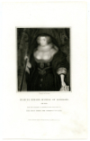 HOWARD, FRANCES, DUCHESS OF RICHMOND (1578-1639)  Patron of Captain John Smith, Founder of the Virginia Colony