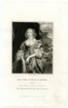 CARRE, ANNE, COUNTESS OF BEDFORD (1615-84)  Wealthy English Noblewoman; Wife of William Russell, 5th Earl of Bedford, a Soldier during the English Civil War; Born in the Tower of London while her Mother, Frances Howard, was awaiting Execution