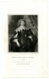 DIGBY, GEORGE, EARL OF BRISTOL (1612-77)  English Nobleman and Politician; Supporter of the Royalist Cause during the English Civil War; Member of Parliament – 1640-41; Secretary of State – 1643-45