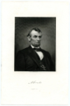 LINCOLN, ABRAHAM (1809-65)  Sixteenth U.S. President – 1861-65 – During the American Civil War; U.S. Representative – Illinois – 1847-49