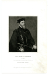 GRESHAM, SIR THOMAS (1519-1579)  English Merchant & Financier during the Reigns of King Edward VI, Queen Mary, and Queen Elizabeth I; Founded the Royal Exchange in London in 1565