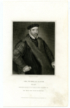 BACON, SIR NICHOLAS (1510-1579)  English Politician during the Reign of Queen Elizabeth I; Member of Parliament; Lord Keeper of the Great Seal – 1558-79; Father of English Philosopher & Statesman Sir Francis Bacon