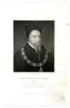 STANLEY, THOMAS, EARL OF DERBY (1435-1504)  English Nobleman; Stepfather to King Henry VII of England