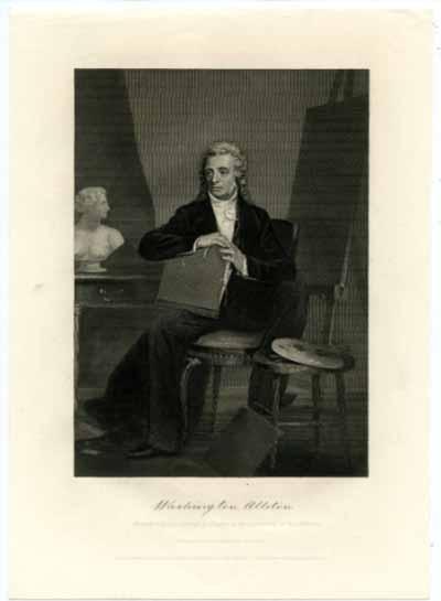ALLSTON, WASHINGTON (1779-1843)  American Painter & Poet
