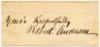 ANDERSON, ROBERT (1805-71)  Union Brigadier General - Kentucky