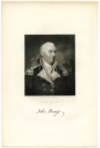 BARRY, JOHN (1745-1803)  American Revolutionary War, Captain in the Continental Navy; Appointed U.S. Navy Commodore by President George Washington - 1797