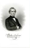 BUCKINGHAM, WILLIAM A. (1804-75)  Governor of Connecticut – 1858-66;  U.S. Senator – Connecticut – 1869-75