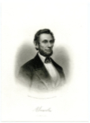 LINCOLN, ABRAHAM (1809-65)  Sixteenth U.S. President – 1861-65, during the American Civil War; U.S. Representative – Illinois – 1847-49