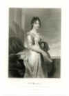 MADISON, DOLLEY P. (1768-1849)  U.S. First Lady - 1809-17; Wife of U.S President James Madison