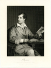"BYRON, LORD GEORGE GORDON (1778-1824)  English Romantic Poet – Most Remembered for ""Don Juan"" & ""Childe Harold's Pilgrimage"""