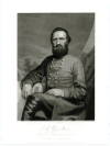 """JACKSON, THOMAS J. """"STONEWALL"""" (1824-63)  Confederate Lieutenant General – Virginia; Mortally Wounded at The Battle of Chancellorsville"""