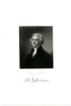 JEFFERSON, THOMAS (1743-1826)  Third U.S. President – 1801-09; Signer of the Declaration of Independence; U.S. Vice President – 1797-1801; U.S. Secretary of State – 1790-93; Governor of Virginia - 1779-81; Founder of the University of Virginia