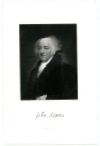 ADAMS, JOHN (1735-1826)  Second U.S. President – 1797-1801; U.S. Vice President – 1789-97; Signer of the Declaration of Independence; Delegate to the Continental Congress – 1774-78